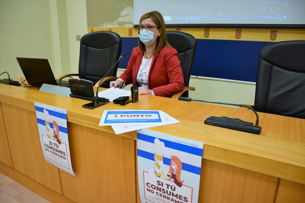 campaña de apoyo a la hostelería y al comercio de Talavera